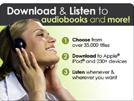 Audible.com ad