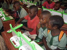 One Laptop Per Child classroom